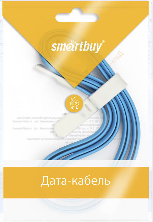 Smartbuy iK-512m, Blue дата-кабель USB-8-pin (1,2 м)iK-512m blueКабель Smartbuy iK-512m, для подключения устройств Apple к USB-порту компьютера или зарядки. Позволяет производить быструю зарядку электронного устройства и обеспечивает надежную синхронизацию с PC или Mac.