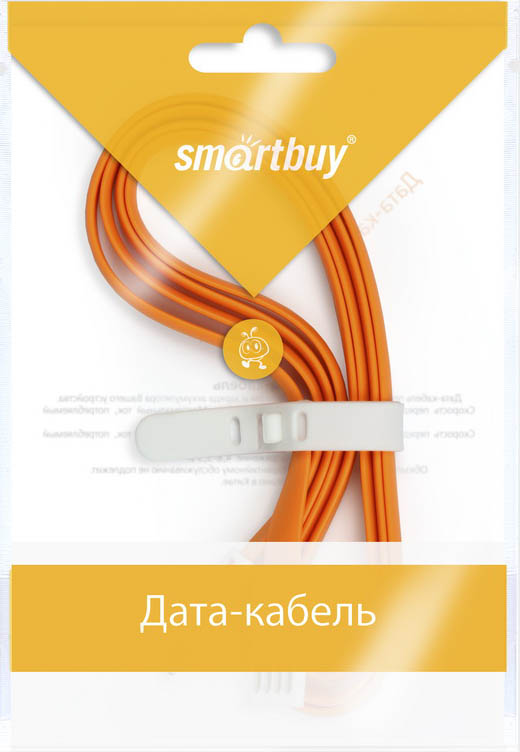 Smartbuy iK-512m, Orange дата-кабель USB-8-pin (1,2 м)iK-512m orangeКабель Smartbuy iK-512m, для подключения устройств Apple к USB-порту компьютера или зарядки. Позволяет производить быструю зарядку электронного устройства и обеспечивает надежную синхронизацию с PC или Mac.