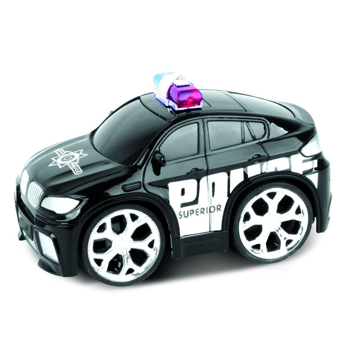 Bluesea Машинка на радиоуправлении Police Car цвет черный