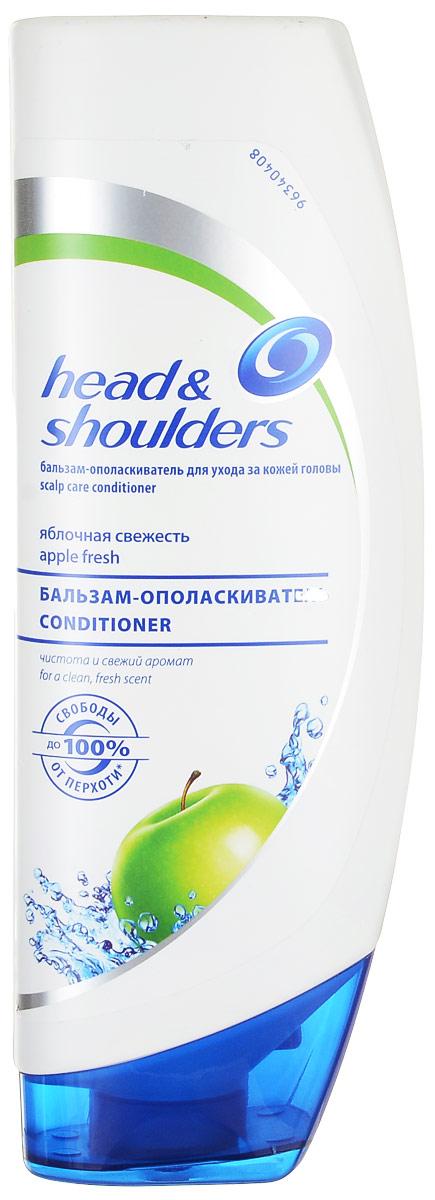 Бальзам-ополаскиватель для ухода за кожей головы Head & Shoulders Яблочная свежесть, 360 мл
