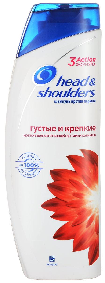 Шампунь против перхоти Head & Shoulders Густые и крепкие, 400 млHS-81467931