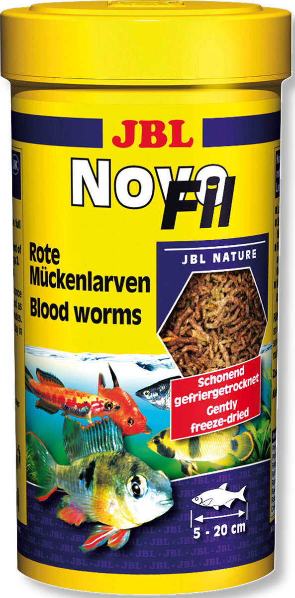 Корм JBL NovoFil для привередливых аквариумных рыб, 100 мл (8 г) корм tetra tetramin xl flakes complete food for larger tropical fish крупные хлопья для больших тропических рыб 10л 769946