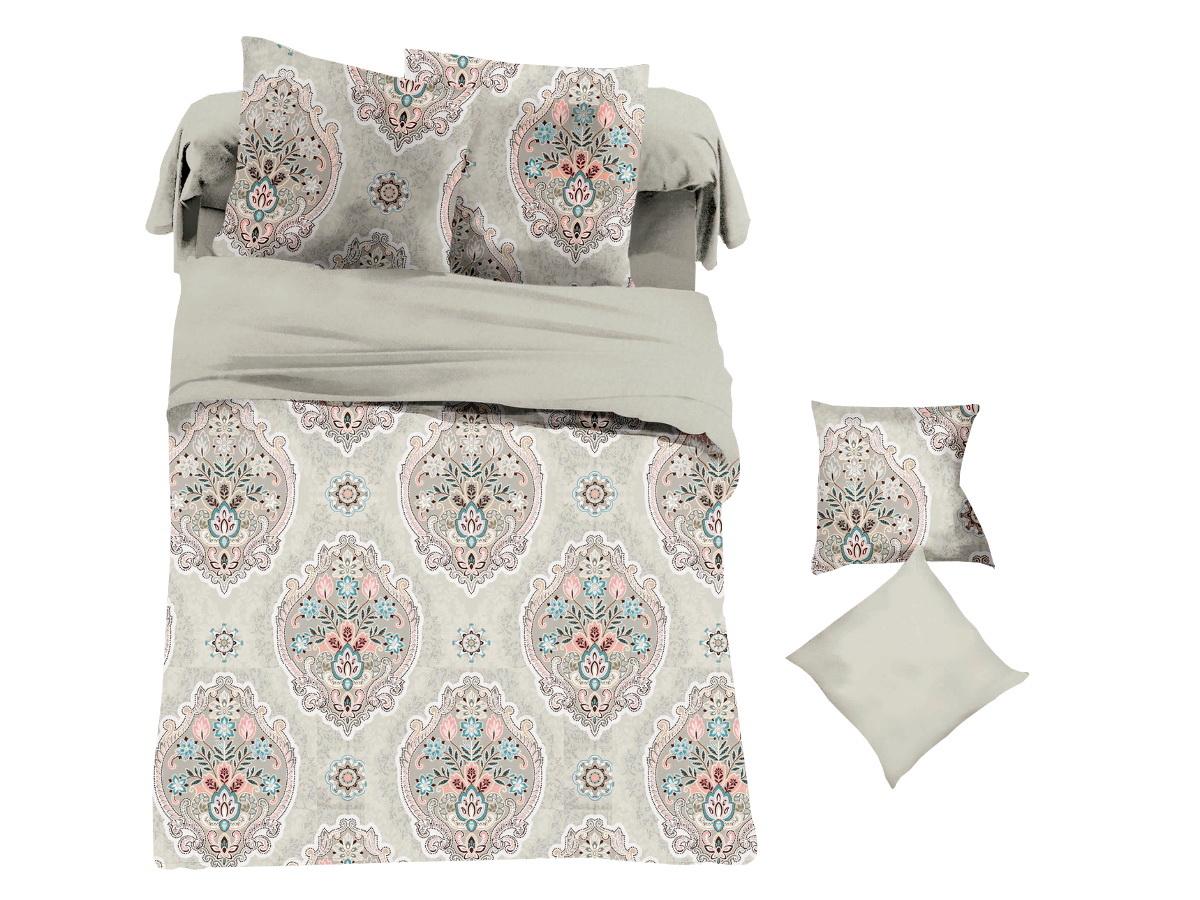 Комплект белья Cleo Сатиновый шарм, 1,5-спальный, наволочки 70х70