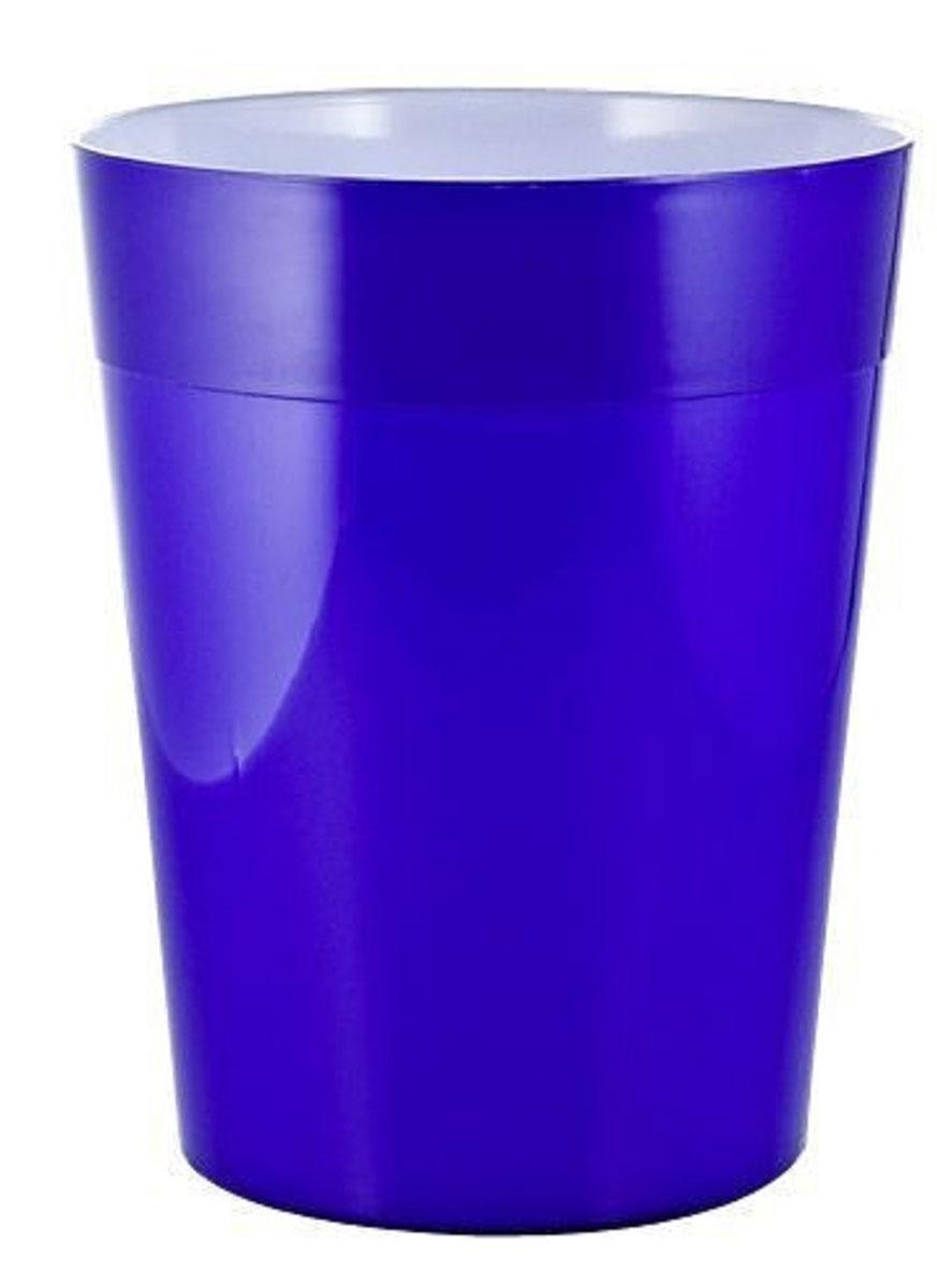 Ведро мусорное Ridder Neon, цвет: синий, 5 л22020603Высококачественные немецкие аксессуары для ванных комнат. Данная серия изготавливается из акрилового стекла.Объем: 5 л.