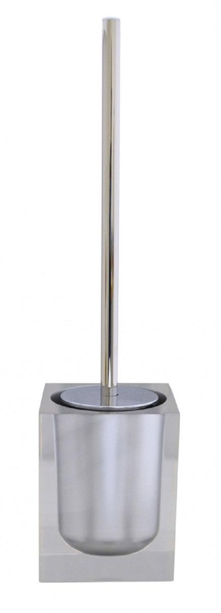 Ершик для унитаза Ridder Colours, с подставкой, цвет: серый22280407Ершик для унитаза Ridder Colours выполнен из нержавеющей стали и оснащен жесткимворсом. Подставка, выполненная из экологичной полирезины, с устойчивым основанием непозволяет ершику опрокинуться. Ершик отличночистит поверхность, а грязь с него легко смываетсяводой.Стильный дизайн изделия притягивает взгляд ипрекрасно подойдет к интерьеру туалетнойкомнаты.