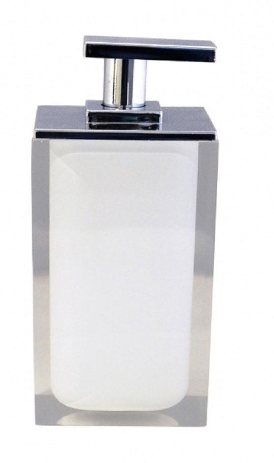 Дозатор для жидкого мыла Ridder Colours, цвет: белый, 300 мл22280501Дозатор для жидкого мыла Ridder Colours, изготовленный из экологичной полирезины,отлично подойдет для вашей ванной комнаты.Такой аксессуар очень удобен в использовании, достаточно лишь перелить жидкое мыло вдозатор, а когда необходимо использование мыла, легким нажатием выдавить нужноеколичество. Дозатор для жидкого мыла Ridder Colours создаст особую атмосферу уюта и максимальногокомфорта в ванной.Объем дозатора: 300 мл.