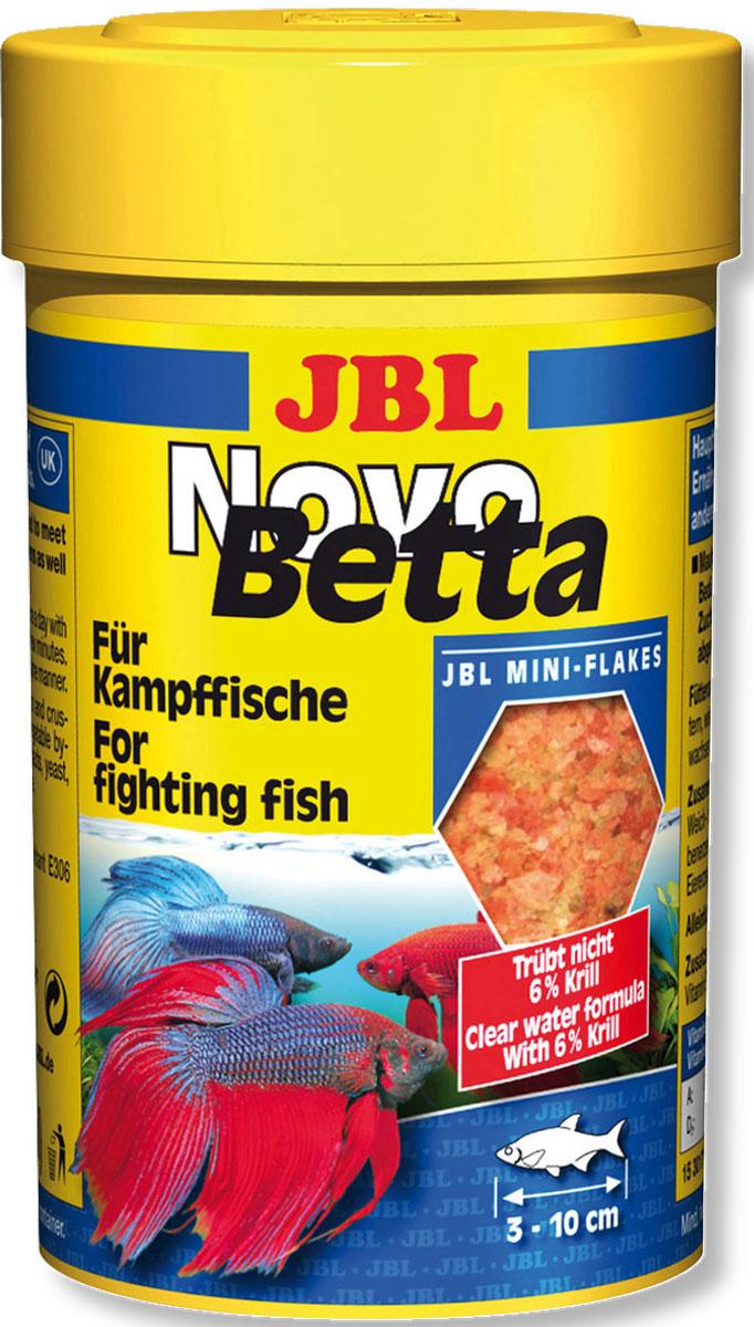 Корм для рыб-петушков JBL NovoBetta, 100 мл (25 г)JBL3017100Корм для рыб-петушков JBL NovoBetta - это полноценный корм для оптимального роста и яркой окраски петушков. Предназначен для рыб размером от 3 до 10 см. Корм питательный и легко усваивается, способствует нересту самок и укрепляет иммунную систему. Не вызывает помутнения воды, сокращает рост водорослей благодаря правильному содержанию фосфатов, улучшает качество воды, в результате хорошей усвояемости снижается количество экскрементов рыб. Не содержит рыбной муки низкого качества, использована рыба от производства филе для людей.Рекомендации по кормлению:1-2 раза в день давайте столько, сколько рыбы съедают за несколько минут. Состав: рыба и рыбные побочные продукты, злаки, моллюски и ракообразные, растительные побочные продукты, овощи, экстракты растительного белка, дрожжи, яйца и продукты из яиц, водоросли. Анализ состава: белок 47%, жир 9%, клетчатка 2%, зола 8%. Добавки: Инозитол 1200 mg, Витамин А 34000 I. E., Витамин Е 400 mg, Витамин C (стабильный) 500 mg, Витамин D3 3000 I. E. Товар сертифицирован.