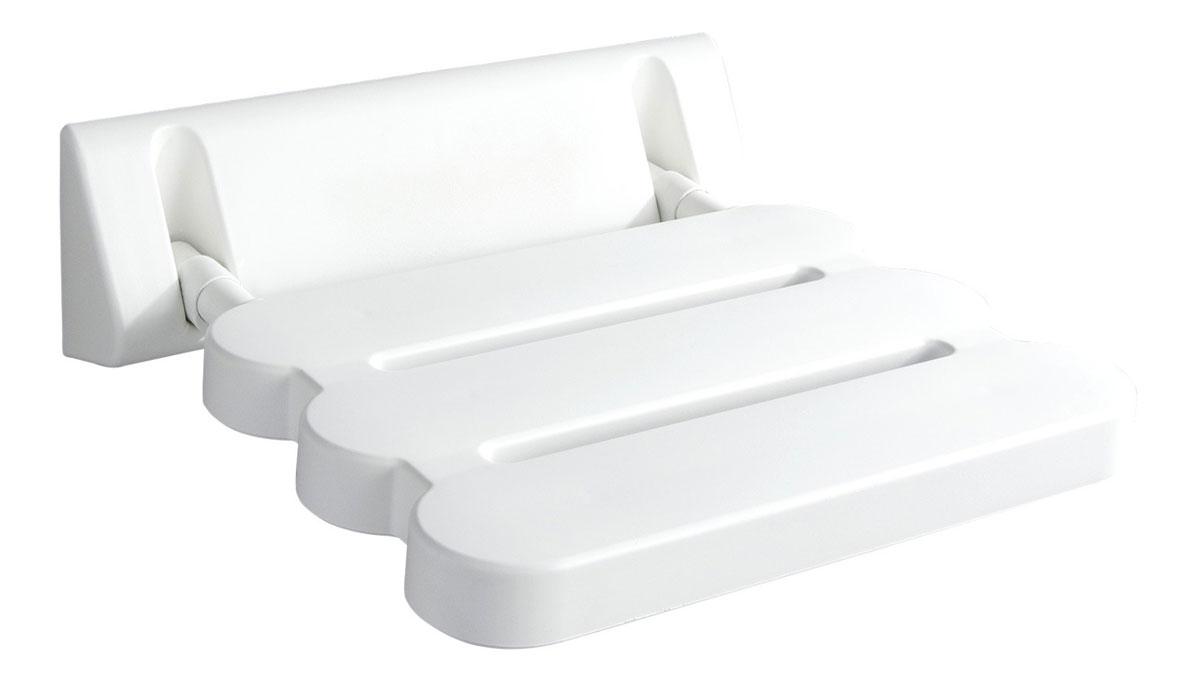 """Сиденье в ванну """"Ridder"""", откидное, цвет: белый. А00200101"""