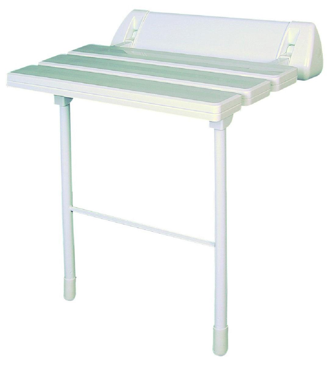 Сиденье в ванну Ridder, цвет: белый. А0020301А0020301Высококачественное немецкое сиденье для ванны разработано и запатентовано компанией Ridder. Данное изделие имеет откидной механизм. Посадочная часть состоит из рифленых реек, не впитывающих влагу. Ножки регулируются по высоте - 460 - 485 мм. Длина сидения - 510 мм. Глубина сидения - 230 мм. Максимальная нагрузка - 250 кг. Состав: каркас - алюминий, сиденье - пластик. В комплект входят саморезы+дюбели и инструкция.