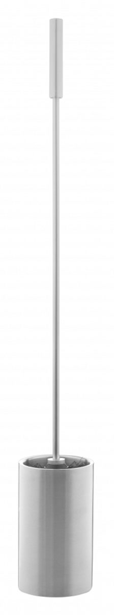 Ершик для унитаза Ridder Assistent, с длинной ручкой, цвет: хромА0170101Ершик для унитаза Ridder Assistent выполнен из нержавеющей стали и оснащен длиннойручкой. Ершик отлично чистит поверхность, а грязь с него легко смывается водой. Щетка съемная. Стильный дизайн изделия притягивает взгляд и прекрасно подойдет к интерьеру туалетной комнаты.Серия Assistent создана для комфорта и безопасности, в том числепожилых людей и лиц с ограниченными возможностями. Не содержит токсичных веществ.Безопасность изделия соответствует стандартам LGA (Германия). Компания Ridderпредоставляет на свою продукцию гарантию качества 3-5 лет. Высота ручки - 51 см. Диаметр ручки - 1,5 см. Высота стакана - 15 см. Диаметр щетки - 8,5 см.