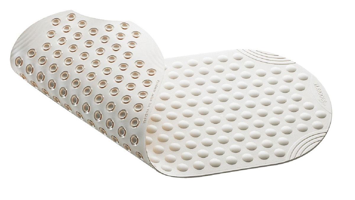 Коврик для ванной Ridder Tecno+, противоскользящий, цвет: белый, 38 х 89 смА6800101Высококачественные немецкие коврики Ridder Tecno+ созданы для вашего удобства. Состав и свойства противоскользящих ковриков: - синтетический каучук с защитой от плесени и грибка, - не содержит ПВХ. Имеются присоски для крепления. Безопасность изделия соответствует стандартам LGA (Германия).