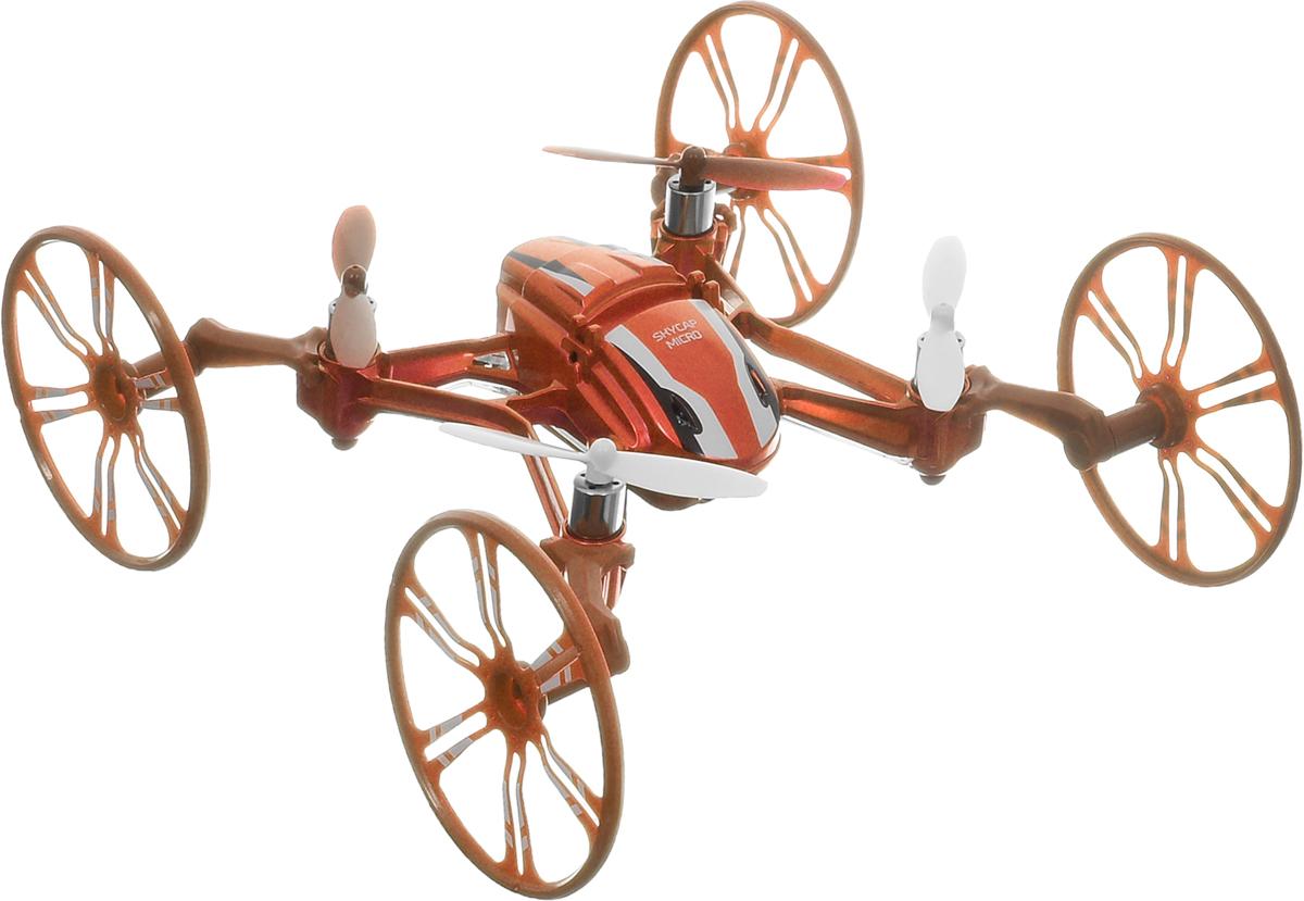 Pilotage Квадрокоптер на радиоуправлении Skycap micro RTF цвет оранжевый