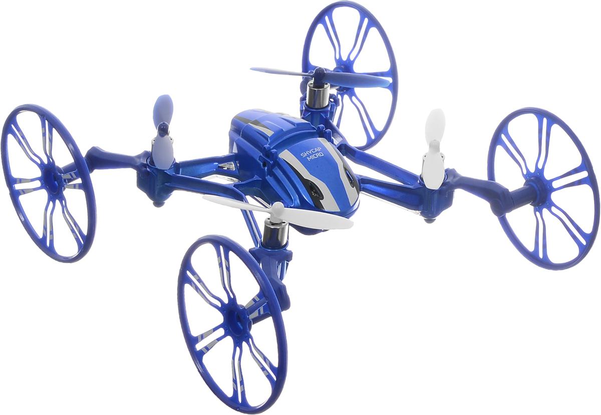 Pilotage Квадрокоптер на радиоуправлении Skycap micro RTF цвет синий