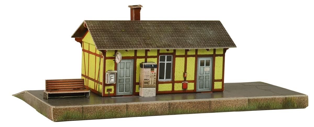 Умная бумага 3D пазл Станция Ауфхаузен