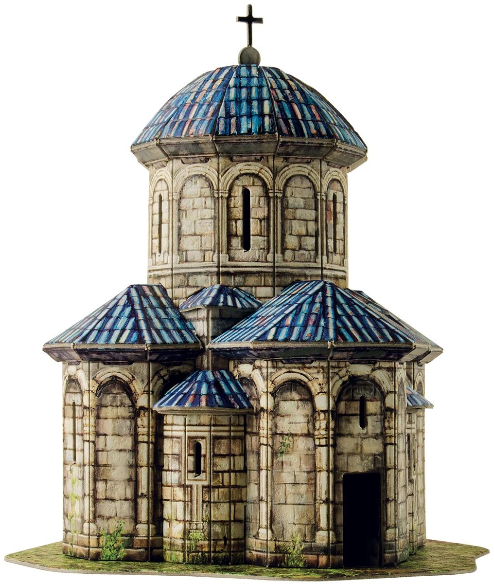 Умная бумага 3D пазл Церковь Кветера