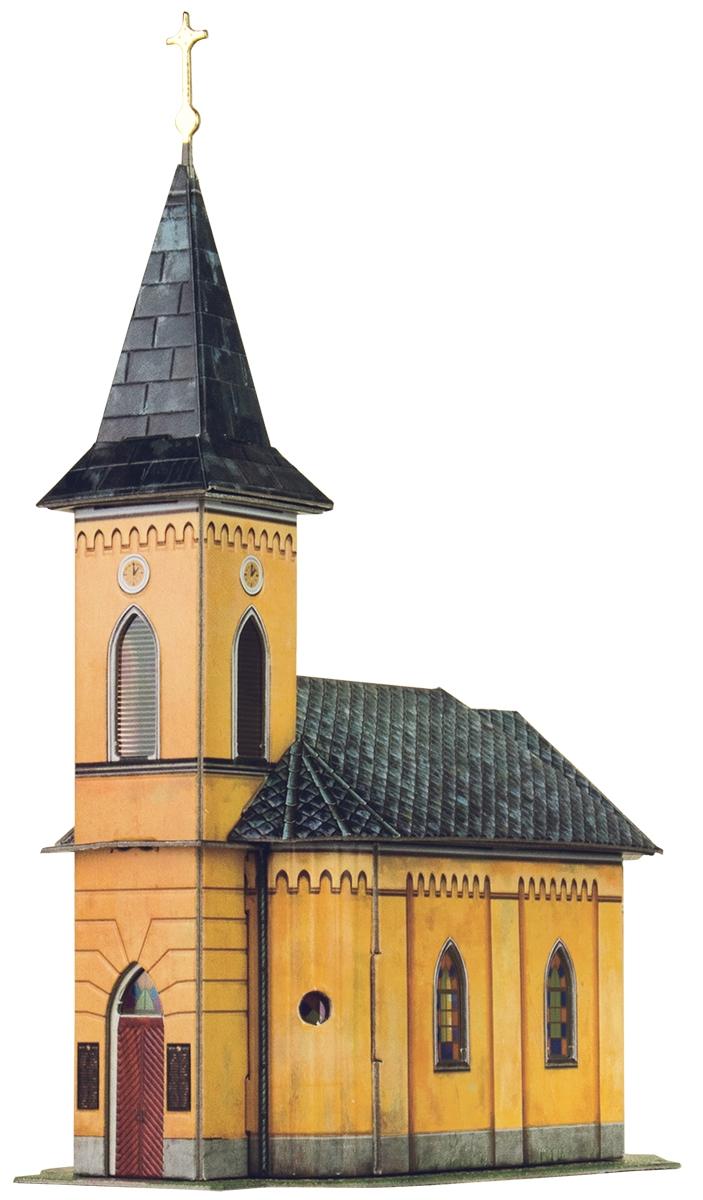 Умная бумага 3D Пазл Кирха в Валлендорфе
