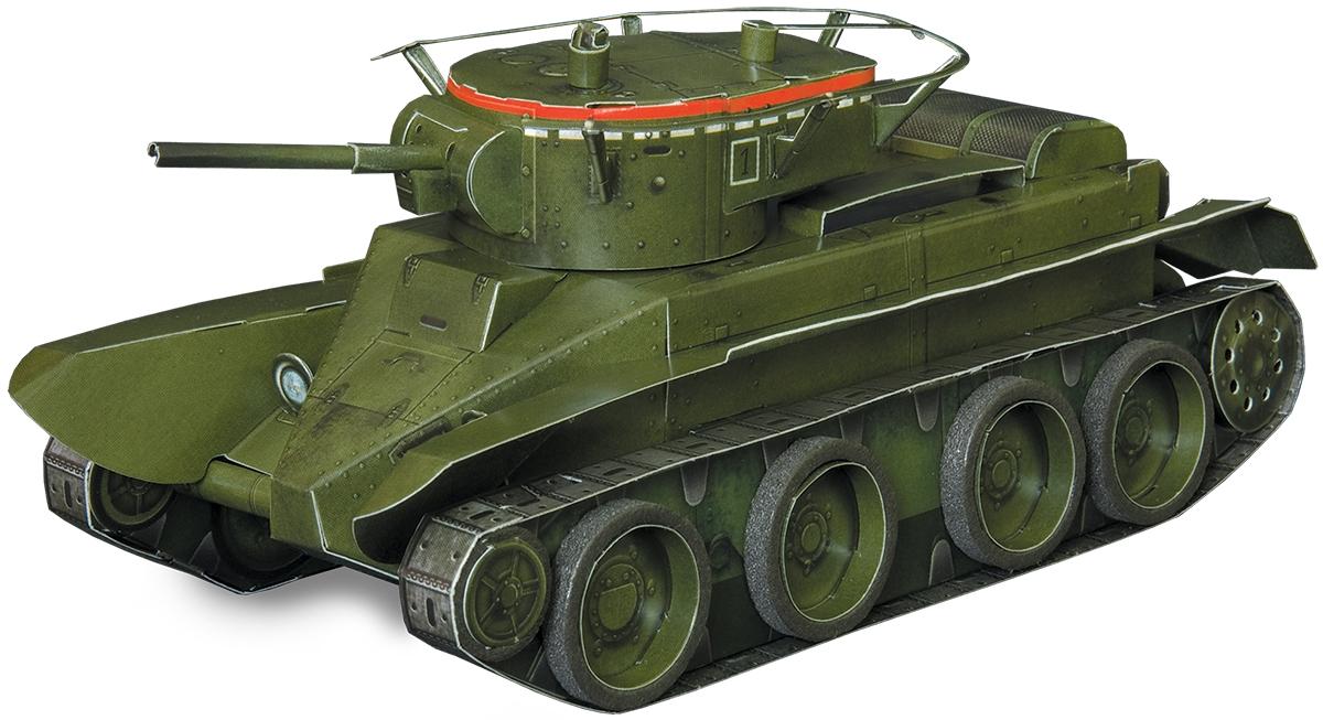 Умная бумага 3D пазл Танк БТ-5