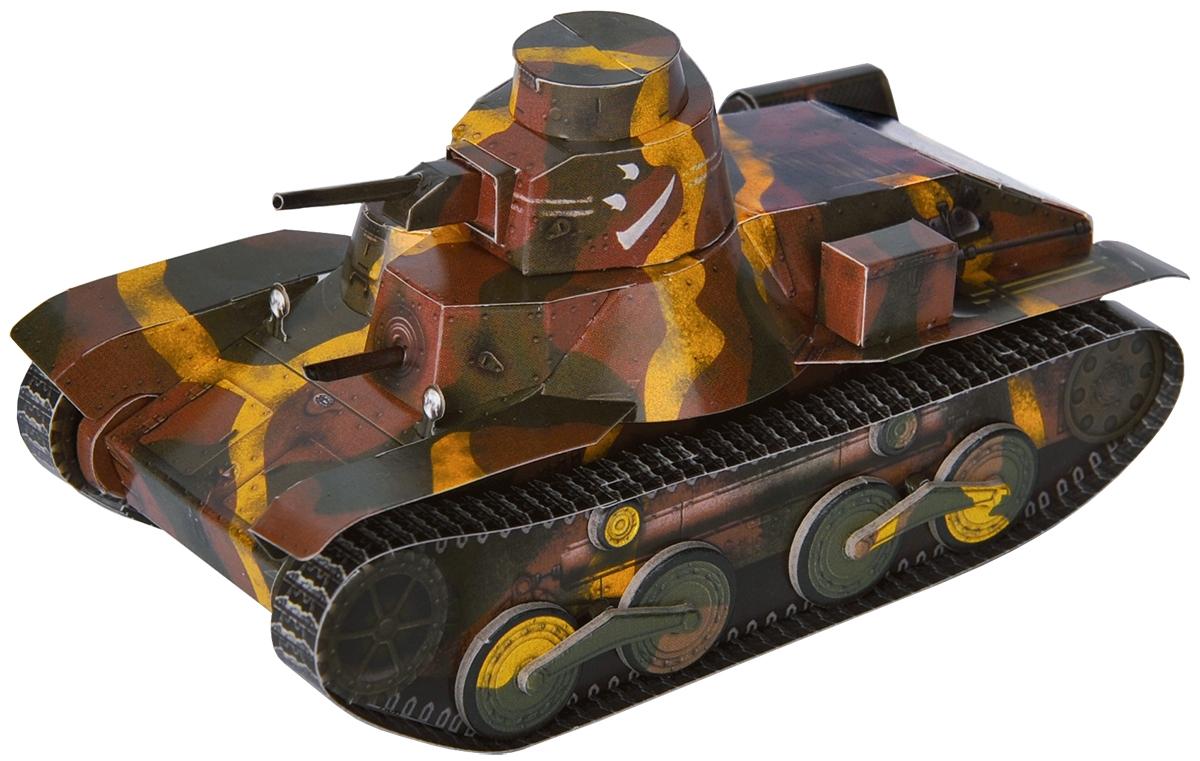 Умная бумага 3D пазл Японский легкий танк Type 95 HA-GO