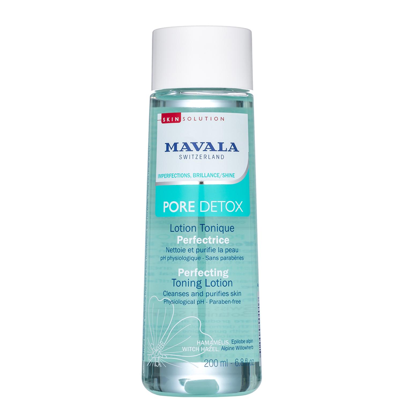 Mavala Тонизирующий Лосьон Pore Detox Perfecting Toning Lotion 200 мл флюид для лица mavala pore detox perfecting hydra matt fluid 45 мл матирующий