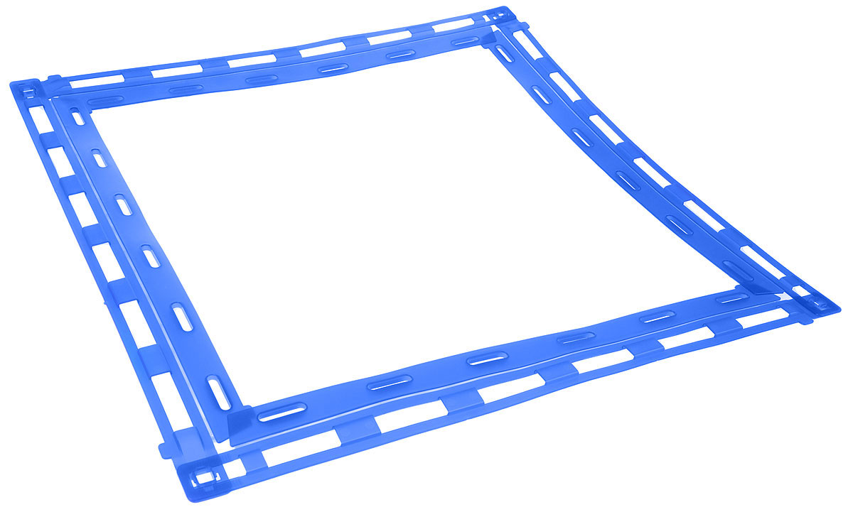 Рамка-держатель для пеленок MPS LEO, 60 х 60 смS09010200Рамка MPS LEO крепко держит пеленку расправленной, не давая ей свернуться при использовании питомцем. Изделие изготовлено из высококачественного крепкого пластика.Пеленка не входит в комплект.