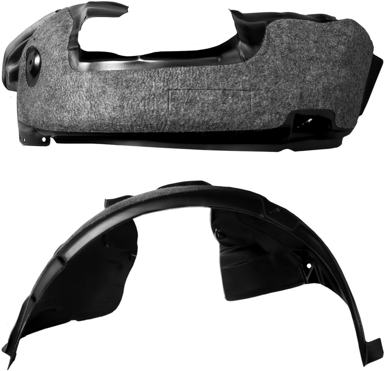 Подкрылок с шумоизоляцией Novline-Autofamily, для Nissan Tiida хэтчбек, 03/2015 -> (передний левый) подкрылок с шумоизоляцией novline autofamily для lada granta 2011 передний левый