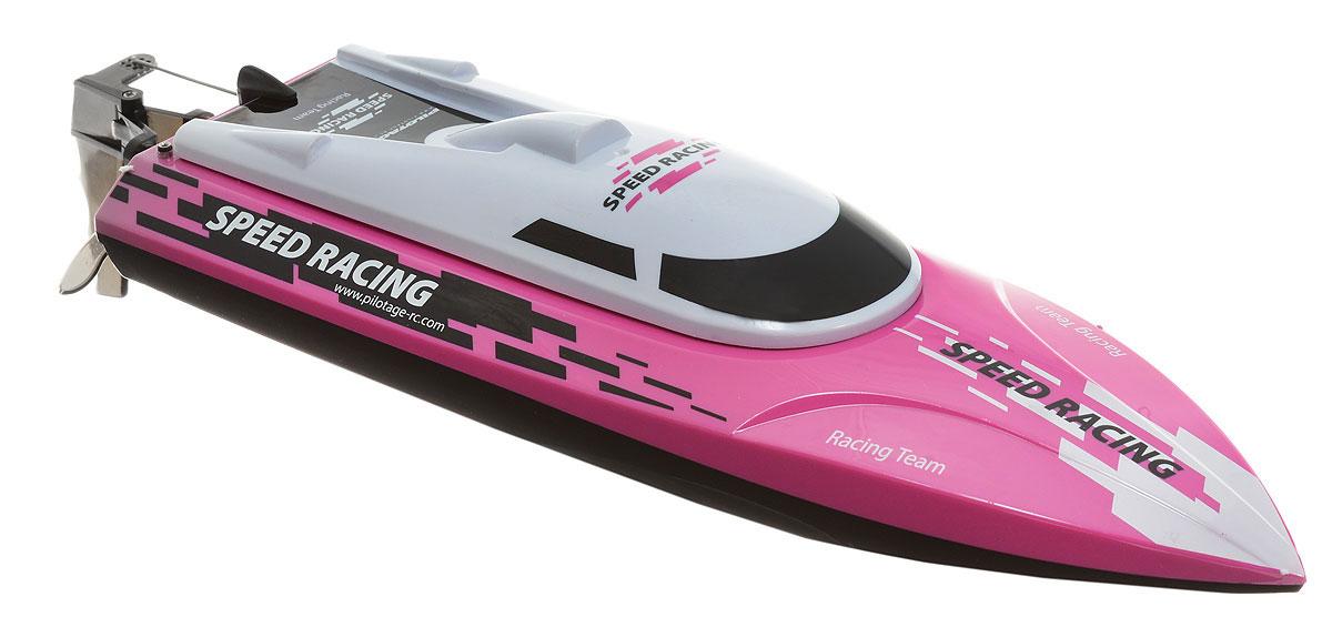 Pilotage Катер на радиоуправлении Speed Racing RTR цвет черный розовый белый