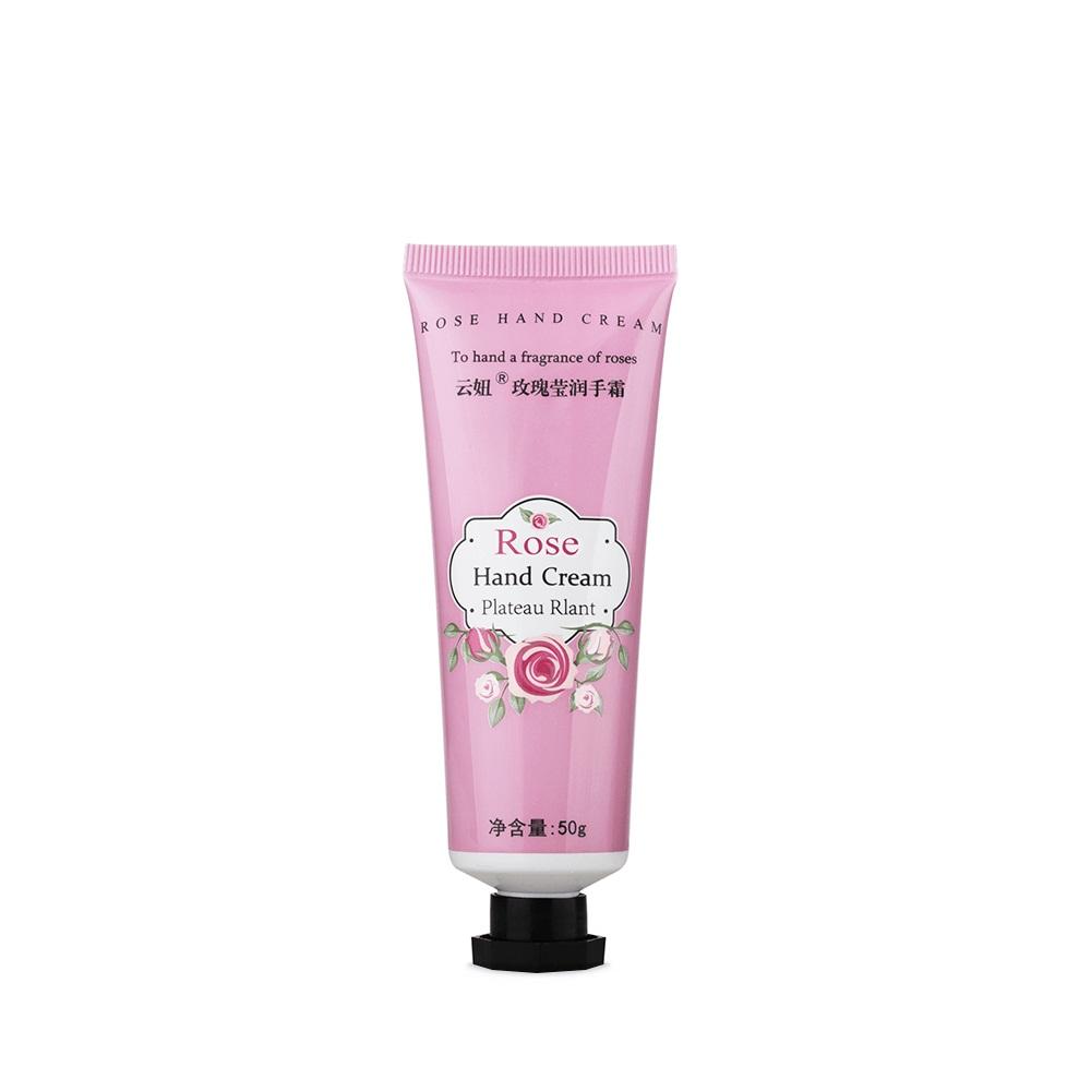 Крем из экстракта розы для рук Yun-Niu (Rose hand cream), 50 мл. the yeon canola honey silky hand cream крем для рук с экстрактом меда канола 50 мл