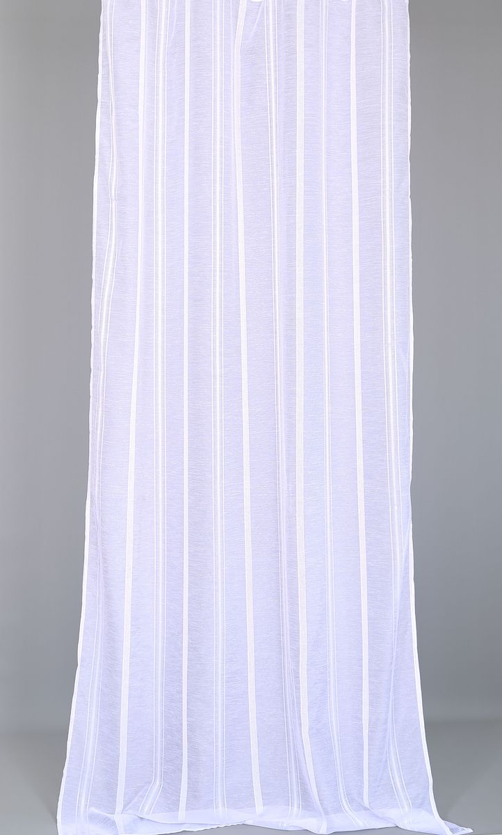 Тюль Garden, на ленте, цвет: белый, высота 280 см5082_ШТюль Garden изготовлен из 100% полиэстера. Воздушная ткань привлечет к себе внимание и идеально оформит интерьер любого помещения. Полиэстер - вид ткани, состоящий из полиэфирных волокон. Ткани из полиэстера легкие, прочные и износостойкие. Такие изделия не требуют специального ухода, не пылятся и почти не мнутся.Крепление к карнизу осуществляется при помощи вшитой шторной ленты.
