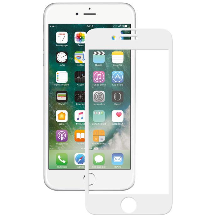 Deppa 3D защитное стекло для Apple iPhone 7 Plus, White62038Прочное защитное стекло из японского закаленного стекла Asahi Deppa 3D защитит экран вашего устройства от царапин. Обеспечивает более высокий уровень защиты по сравнению с обычной пленкой. При этом яркость и чувствительность дисплея не будут ограничены. Препятствует появлению воздушных пузырей и надежно крепится на экране устройства.