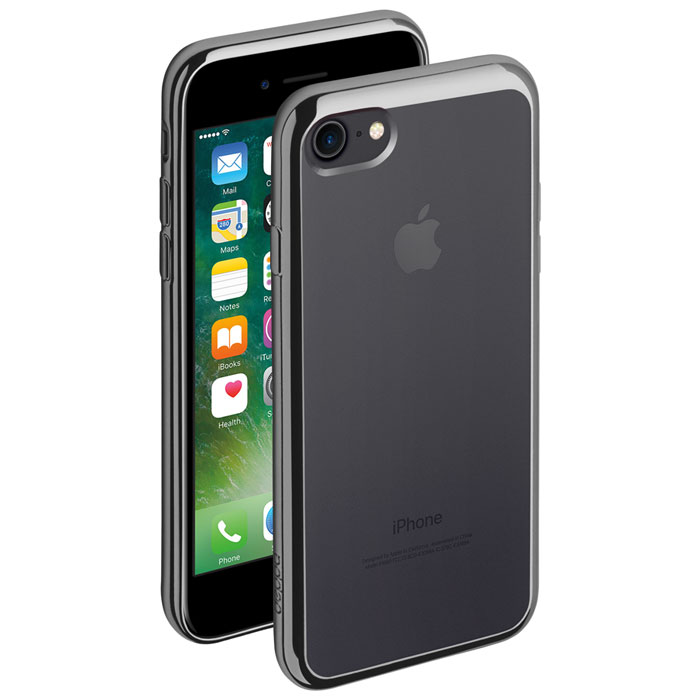 Deppa Gel Plus Case чехол для Apple iPhone 7/8, Graphite чехол deppa gel plus case для apple iphone 7 iphone 8 золотой 85256