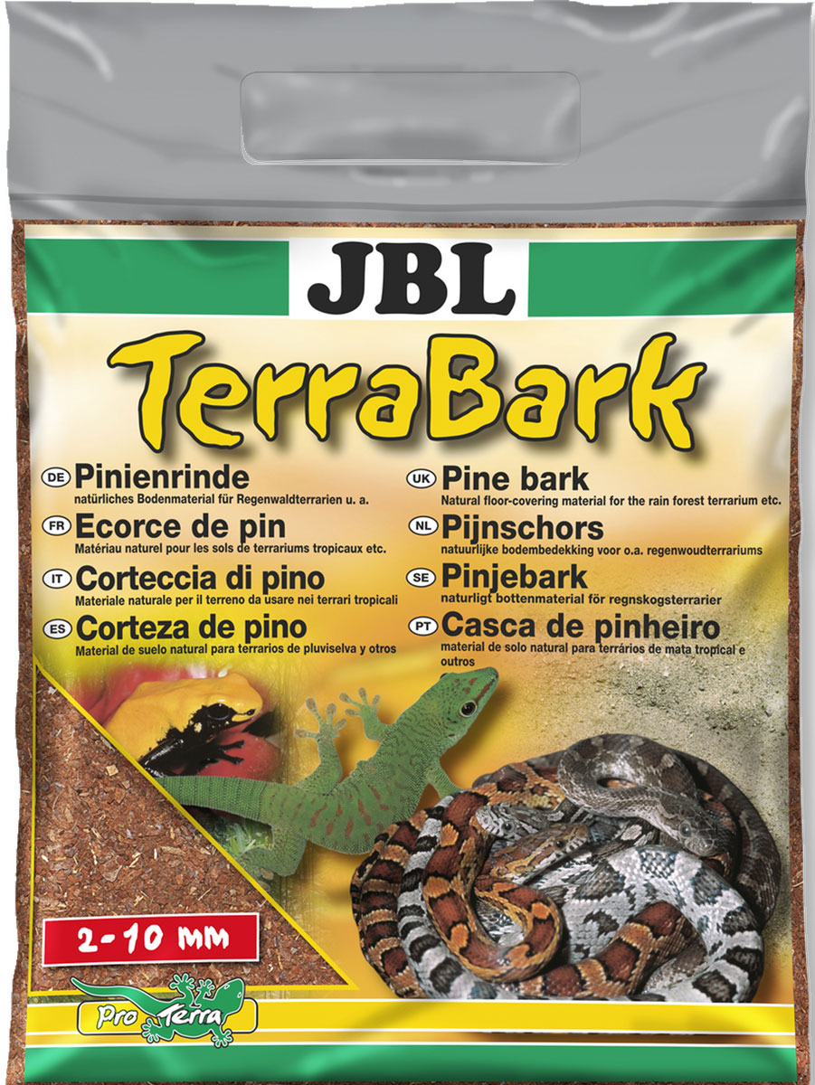 Донный субстрат из коры пинии JBL TerraBark, гранулы 2-10 мм, 20 л