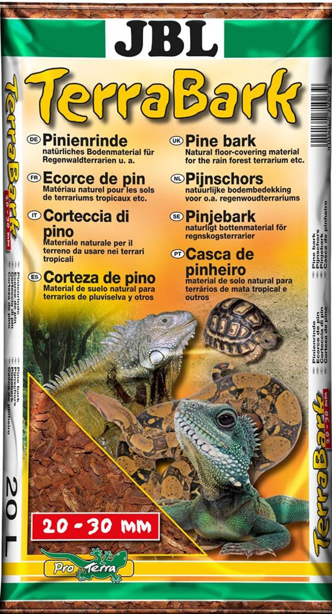 Грунт для террариума JBL TerraBark, из коры пинии, 20-30 мм, 20 л (5,5 кг)JBL7102300Грунт из коры пинии JBL TerraBark предназначен для террариума леса и дождевого леса. Не содержит пестицидов. Подавляет развитие болезнетворных микроорганизмов и грибка. Регулирует влажность.Чтобы обустроить обитателям террариума дом, как в природе, террариум необходимо оформить согласно биотопу. Для животных решающее значение кроме прочего имеет размер террариума. При установке подбирают правильный субстрат, подходящие растения, обеспечивают вентиляцию, освещение и обогрев террариума.Зерно: 20-30 мм.