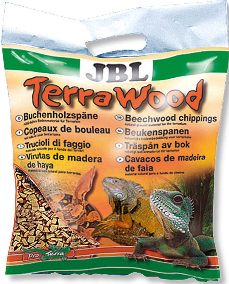 Буковая щепа JBL  TerraWood , для сухих и полусухих террариумов, 20 л