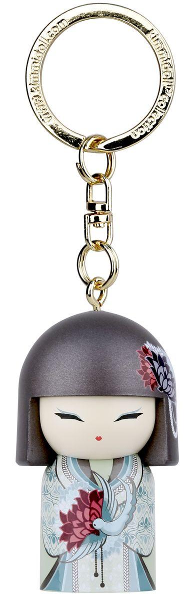 Брелок Kimmidoll Азуми, цвет: мятный, бирюзовый. TGKK199 универсальный кошелек органайзер kimmidoll тацуйо сила духа kf0876