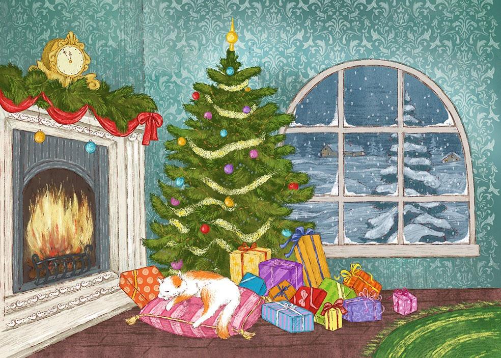 О.М. Салль В ожидании Нового года! Адвент-календарь