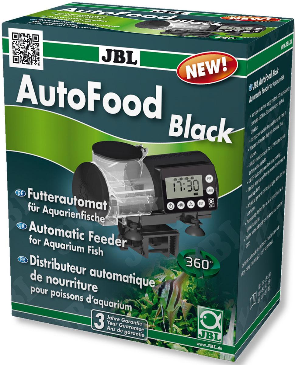 Автоматическая кормушка для аквариумных рыб JBL AutoFood, цвет: черныйJBL6061500Автоматическая кормушка для аквариумных рыб JBL AutoFood очень практичная, так как автоматически кормит аквариумных рыб. Модель подходит для любых гранул до 3 мм и программируется до 4 кормлений в день. Имеется переключатель на ручное управление, легко устанавливается время кормления и количество корма. К кормушке подключается воздушный шланг для просушки корма. Универсальное крепление присосками или держателем с зажимом (кронштейн поворачивается на 360°).