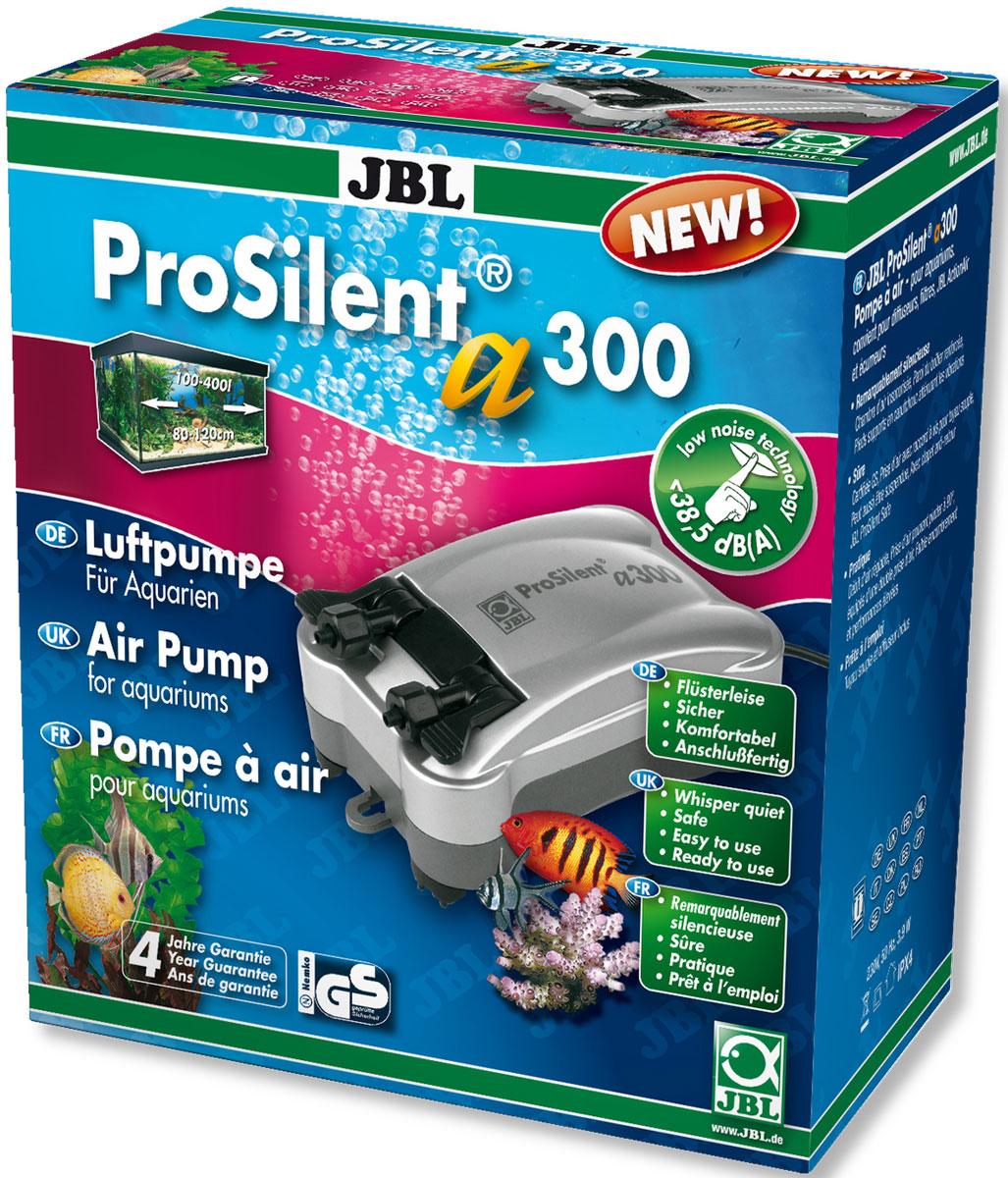 Компрессор JBL ProSilent, для аквариума 100-400 л, 300 л/ч компрессор schego ideal 150 л ч