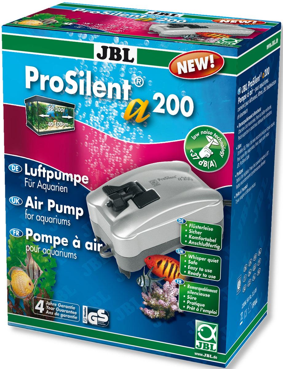 Компрессор JBL ProSilent, для аквариума 50-300 л, 200 л/ч www барахолка аквариум 200 л в иваново