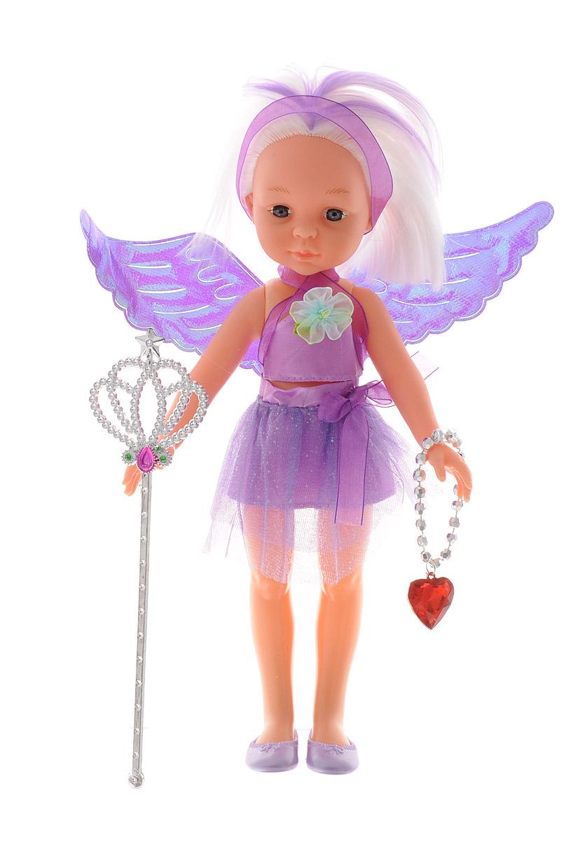 ABtoys Кукла Фея цвет одежды фиолетовый креатто мозаика волшебная фея