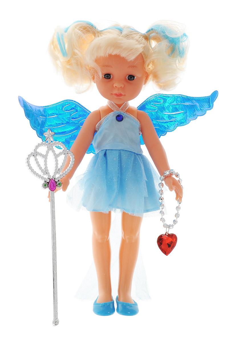 ABtoys Кукла Фея цвет одежды голубой abtoys кукла фея цвет одежды фиолетовый