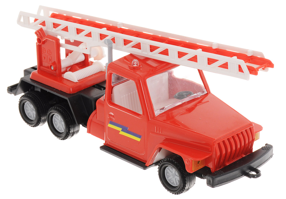 Форма Пожарная машина Урал пламенный мотор машинка инерционная volvo пожарная охрана