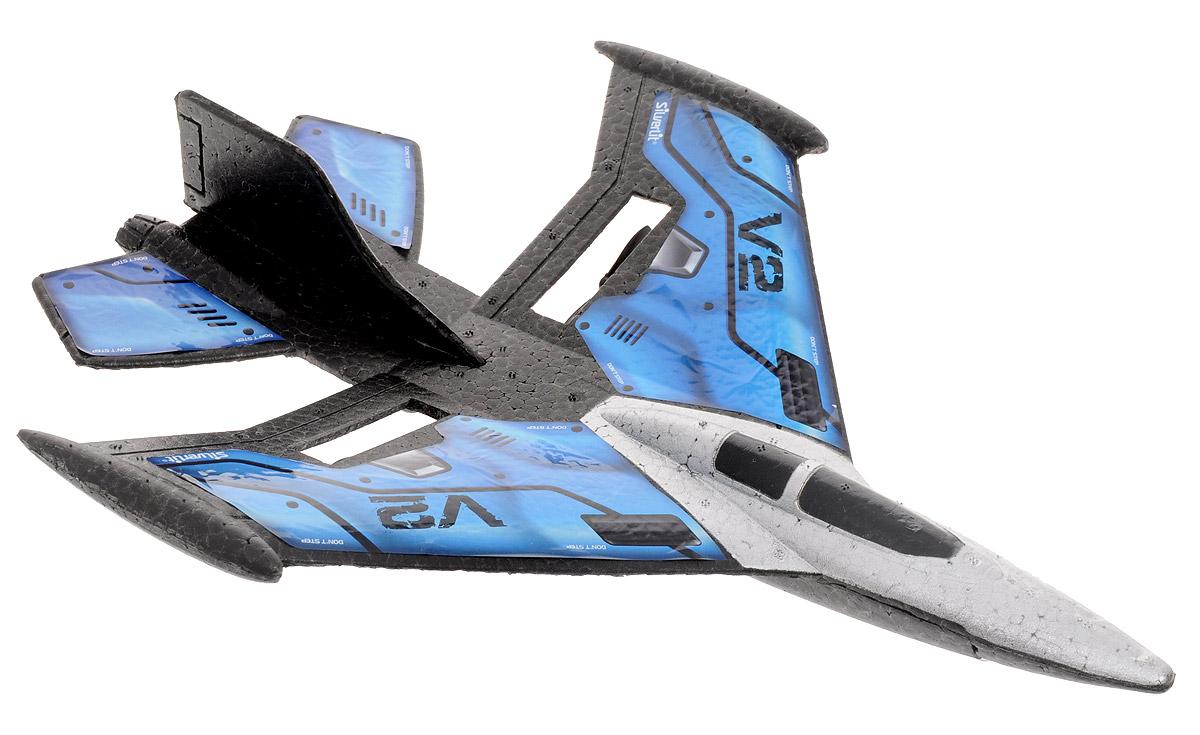 Silverlit Самолет на радиоуправлении X-Twin Jet цвет синий - Радиоуправляемые игрушки