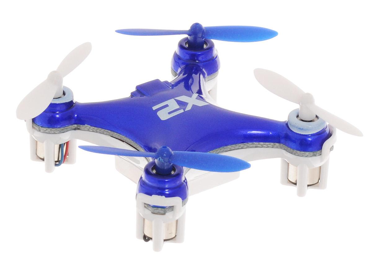 Pilotage Квадрокоптер на радиоуправлении Nano-X2 цвет синий