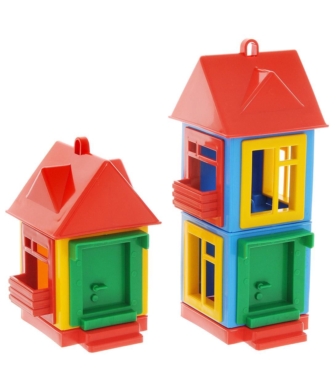 Форма Развивающая игрушка Панельный дом мультицвет