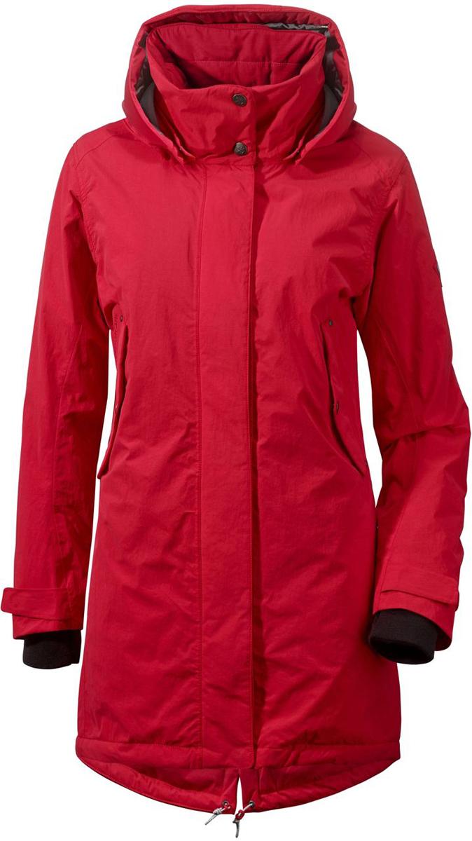 Парка женская Didriksons1913 Naja, цвет: красный. 500986_042. Размер 40 (48) куртка nomadic didriksons