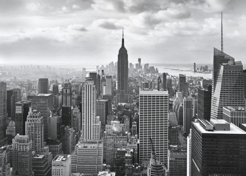 Фотообои Komar Нью-Йорк, 3,68 х 2,54 м8-323Бумажные фотообои известного бренда Komar с панорамным черно-белым видом Нью-Йорка позволят создать неповторимый облик помещения, в котором они размещены. Фотообои наносятся на стены тем же способом, что и обычные обои. Благодаря превосходной печати и высококачественной основе такие обои будут радовать вас долгое время. Фотообои снова вошли в нашу жизнь, став модным направлением декорирования интерьера. Выбрав правильную фактуру и сюжет изображения можно добиться невероятного эффекта живого присутствия.Ширина рулона: 3,68 м.Высота полотна: 2,54 м. Клей в комплекте.
