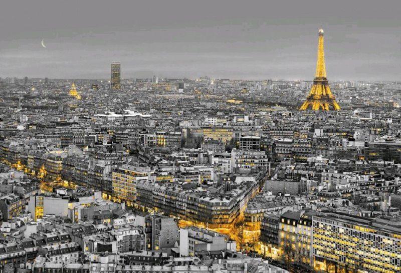 Фотообои Komar Огни Парижа, 3,68 х 2,54 м8-960Бумажные фотообои известного бренда Komar с панорамным видом позволят создать неповторимый облик помещения, в котором они размещены. Фотообои наносятся на стены тем же способом, что и обычные обои. Благодаря превосходной печати и высококачественной основе такие обои будут радовать вас долгое время. Фотообои снова вошли в нашу жизнь, став модным направлением декорирования интерьера. Выбрав правильную фактуру и сюжет изображения можно добиться невероятного эффекта живого присутствия.Ширина рулона: 3,68 м.Высота полотна: 2,54 м. Клей в комплекте.