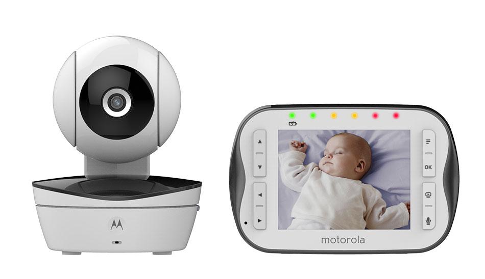 Motorola Видеоняня MBP43S - Безопасность ребенка