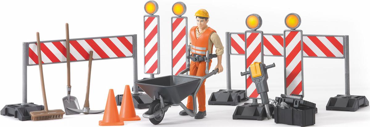 Bruder Игровой набор Дорожные знаки игровой набор big big дорожные знаки для детей 6 шт 69 см