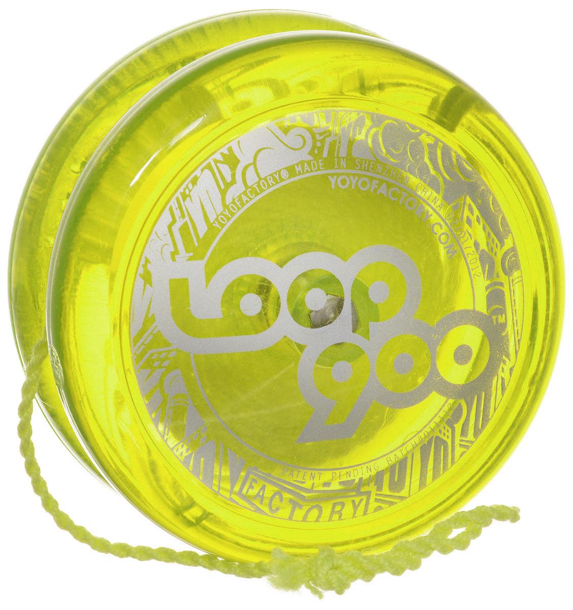 YoYoFactory Йо-йо Loop 900 цвет салатовый йо йо auldey